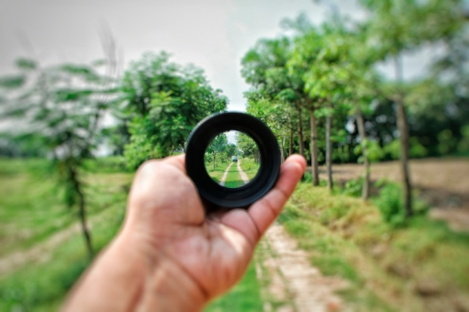 Through the lens
